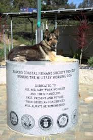 dog memorial working dog memorial rancho coastal humane society