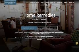 portland me u0027s home remedies furniture store introduces new web