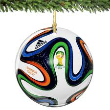 amazon com world cup christmas ornament 2 75 inches porcelain