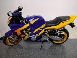 honda cbr 600 f3 1997 honda cbr600 f3 blue yellow motor bikes canton ohio mc222