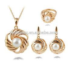 saudi arabia gold earrings saudi arabia gold jewelry set saudi gold jewellery with pearl