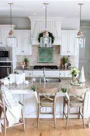 rustic pendant lighting kitchen farmhouse island modern kitchens