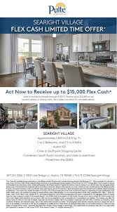 gordon plan at searight village in austin texas by pulte homes
