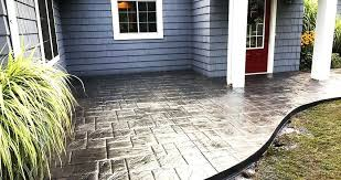 Dyed Concrete Patio by Concrete Contractors Rochester Ny Stamped Concrete Contractors