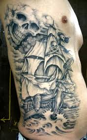 9 best pirate ship tattoos images on pirate boats