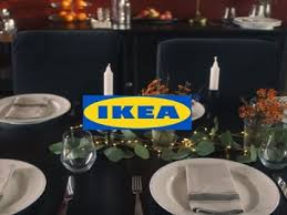 ikea thanksgiving table commercial