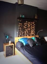 String Of Lights For Bedroom by Bedroom Black Bedroom Colors With String Lights Modern New 2017