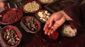 cuisine historique cuisinier cuisine mise en scène historique chine hd stock