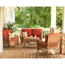 Home Depot Charlottetown Patio Furniture by Martha Stewart Living Charlottetown Natural All Weather Wicker