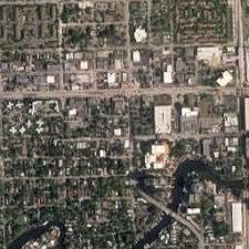 map of ft lauderdale satellite map of fort lauderdale fl satellite images