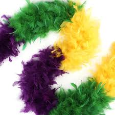 mardi gras feather boas chandelle boas sectional color mardigras mix