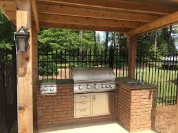 Pergola Kitchen Outdoor by Outdoor Kitchens U2013 Durable Designs