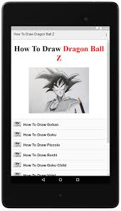draw dragon ball dbz android apps google play