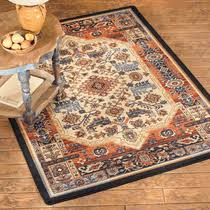 8 Foot Square Rug by Southwest Rugs Manitoba Rug Collection Lone Star Western Decor