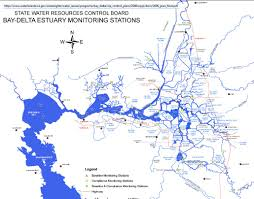 san francisco delta map water quality issues from delta water exports