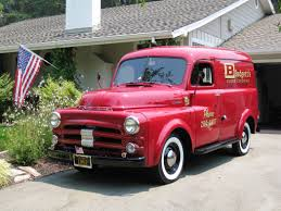 1946 dodge panel truck 1952 dodge panel is a work truck for business sales