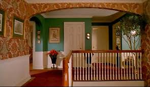 home alone house interior inside the home alone house upstairs landing house