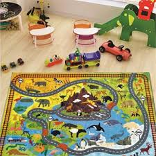Childrens Play Rug Kids U0027 Cars Trucks U0026 Trains Rugs You U0027ll Love Wayfair