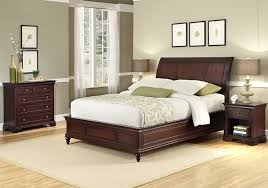 Bedroom Furniture Styles by Amazon Com Home Styles Lafayette King Sleigh Bed Night Stand And