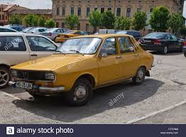 renault romania old dacia renault 12 r12 parked in targu mures carpathian