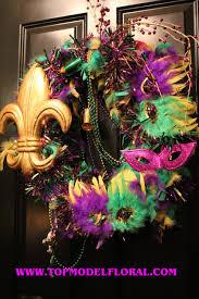 mardi gras wreaths mardi gras wreath ideas unique floral arrangements by fisher