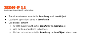 builder pattern in java 8 updates to the java api for json processing for java ee 8