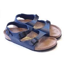 birkenstock kids girls boys u0026 ladies foot bed sandals poppy red