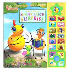 spider sunny patch surprise sound book u0026 game