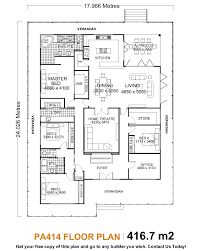 4 bedroom one story house plans home architecture this layout with rooms single story