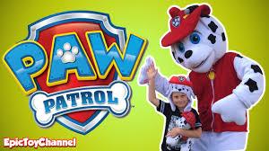 paw patrol live action parody marshall paw