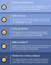 drop shippers fully certified wholesale dropshippers