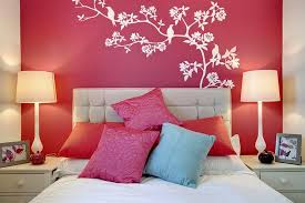red and blue bedroom bedroom artistic bedroom design with cream bed frame designed with