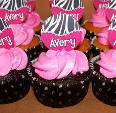 photo zebra baby shower cake image