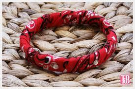 bandana wristband bandana bracelets by trinkets in bloom