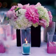 wedding flowers gallery 24 best blue pink wedding centerpieces images on