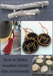 ornaments from tree branches my repurposed