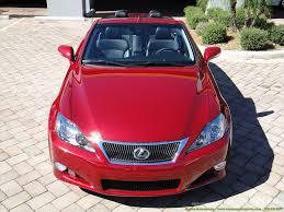 red lexus 2010 2010 lexus is 350 convertible