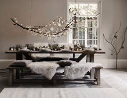 Interior Design Dining Room Best 25 Christmas Dining Rooms Ideas On Pinterest Rustic Round
