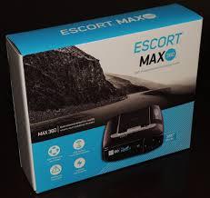 escort max 360 radar laser detector review