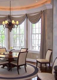 Drapery Designs For Bay Windows Ideas Bay Window Drapes Windows And Curtains Ideas Decorating