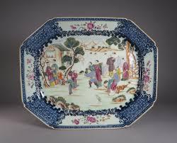 mandarin porcelain famille mandarin platter dubey s antiques