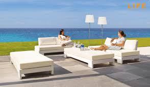 Garten Lounge Gunstig Lounge Set Block Wit Tuinmeubel Collectie Life Outdoor Living