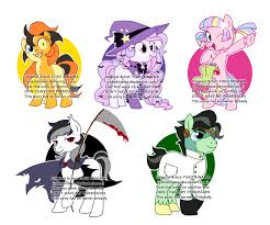 monsters halloween halloween pony monsters adoptable closed by yokokinawa on deviantart