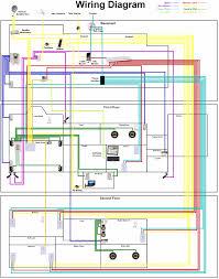 Home Electrical Lighting Design Wiring Diagram For House Lighting Circuit And House Electrical