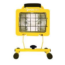500 watt halogen light voltec 500 watt heavy duty halogen work light 08 00609 the home depot