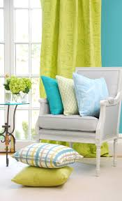 Turquoise Living Room Curtains Best 25 Lime Green Curtains Ideas On Pinterest Green Office