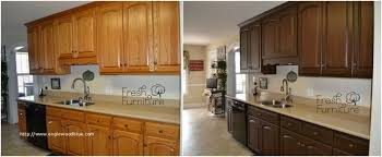 cost to gel stain kitchen cabinets 38 a review of oak cabinet makeover without painting gel