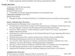 Example Chronological Resume by Plush Sample Chronological Resume 15 For An Administrative