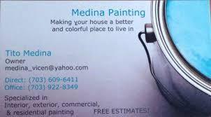 Exterior Painting Alexandria Va - medina painting drywall installation u0026 repair 6004 hydrangea