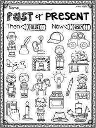 past vs present freebie tech ed social studies